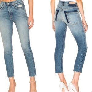 NWT GRLFRND The Karolina high waist jeans